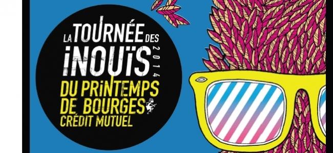 2 places à gagner: Tournée des Inouïs @Espace Julien