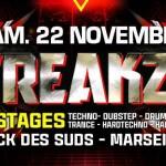 What The Freakz ! @Docks Des Suds – 2 places à gagner