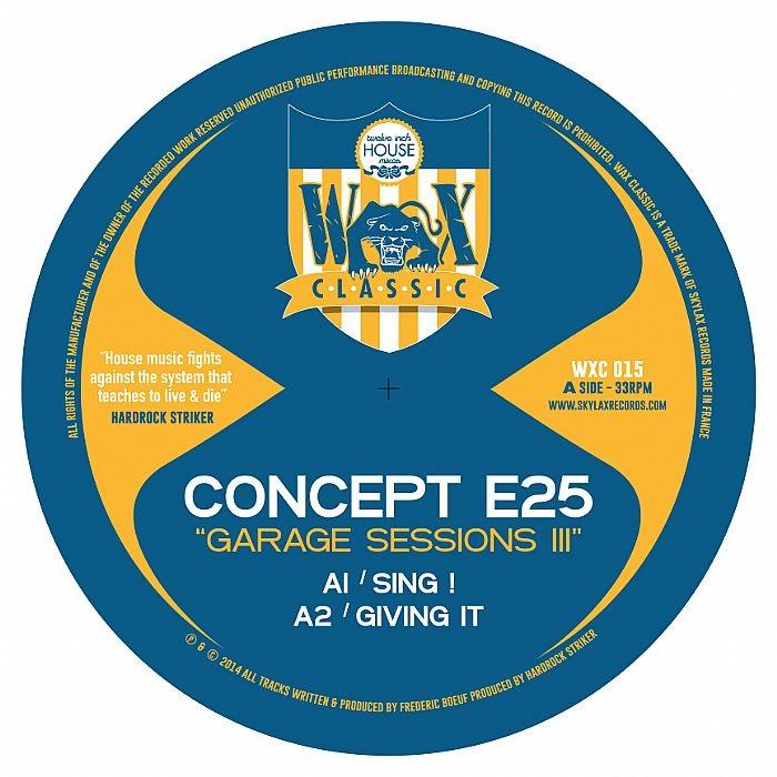 Concept e25 Garage Sessions 1